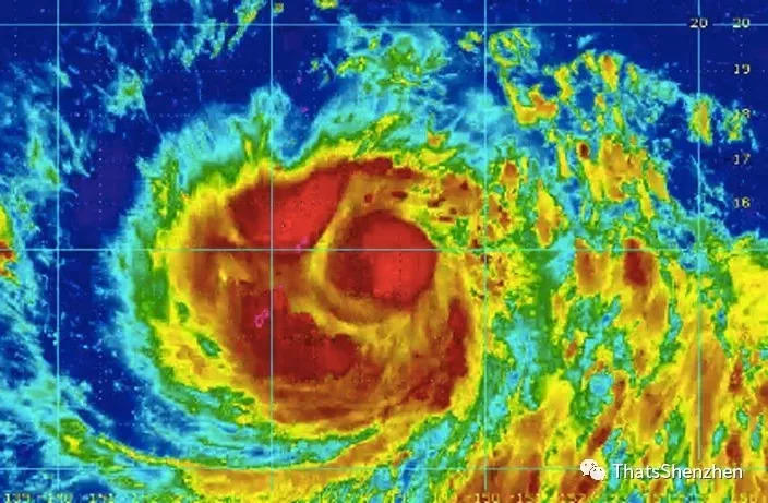 Attention! Dual Typhoons To Make Landfall In Guangdong!!!