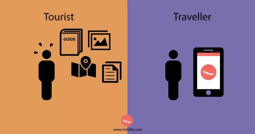 10+ Differences Between Tourists & Travellers!