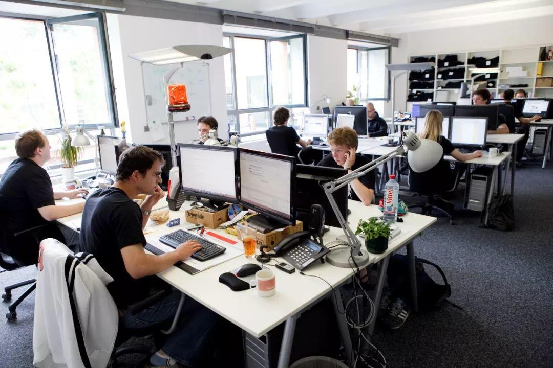 Do open plan offices really promote productivity?