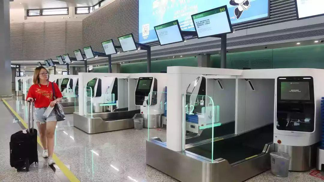 Chinese Fully Automated Airport! Not Just Facial Recognition!