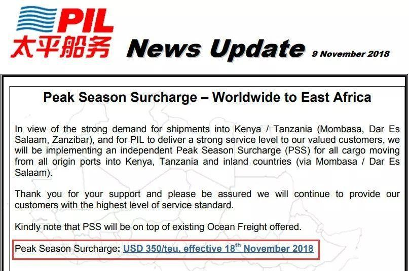 READY? Shipping Companies To Raise Prices Recently!