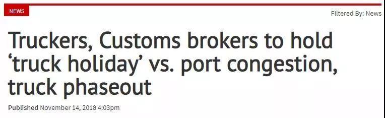 Breaking: Scheduled Strike Is About to Paralyze Philippine Port