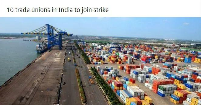 Attention! India's National Strike Is About to Kick Off!