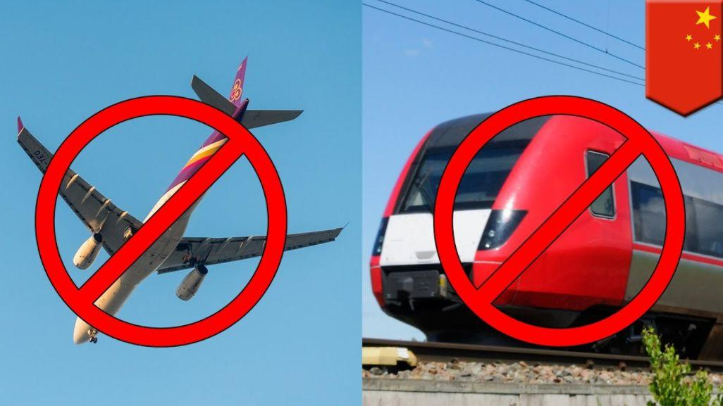 Notice! You'll Be Banned from Taking Plane/Train if...