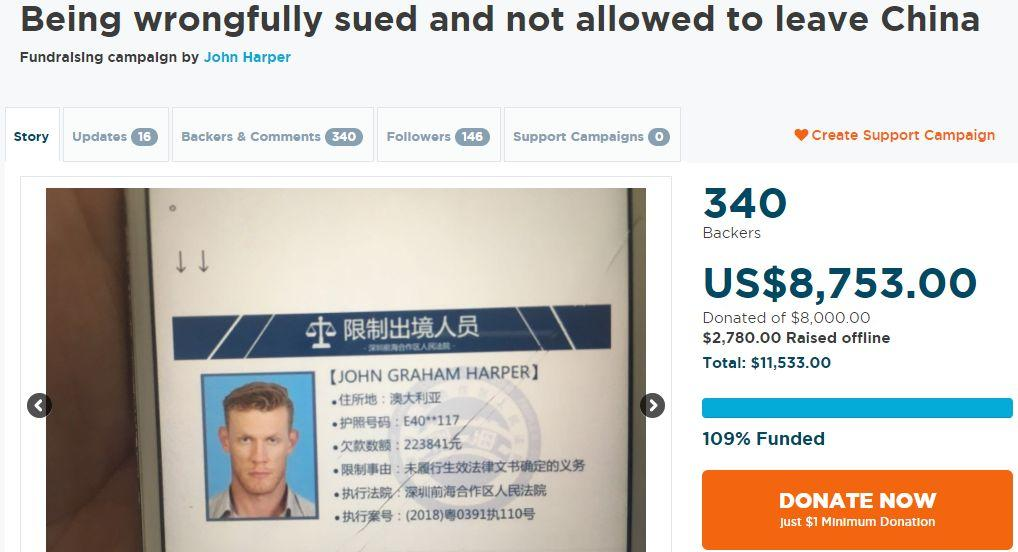 Expat Banned from Leaving China!