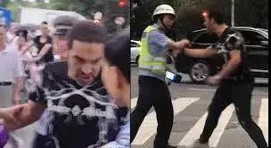 Privilege? Foreigner Attacks a Policeman in China!