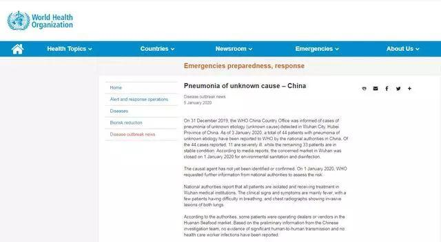 Beware if You've been in This Market! China Pneumonia Outbreak!