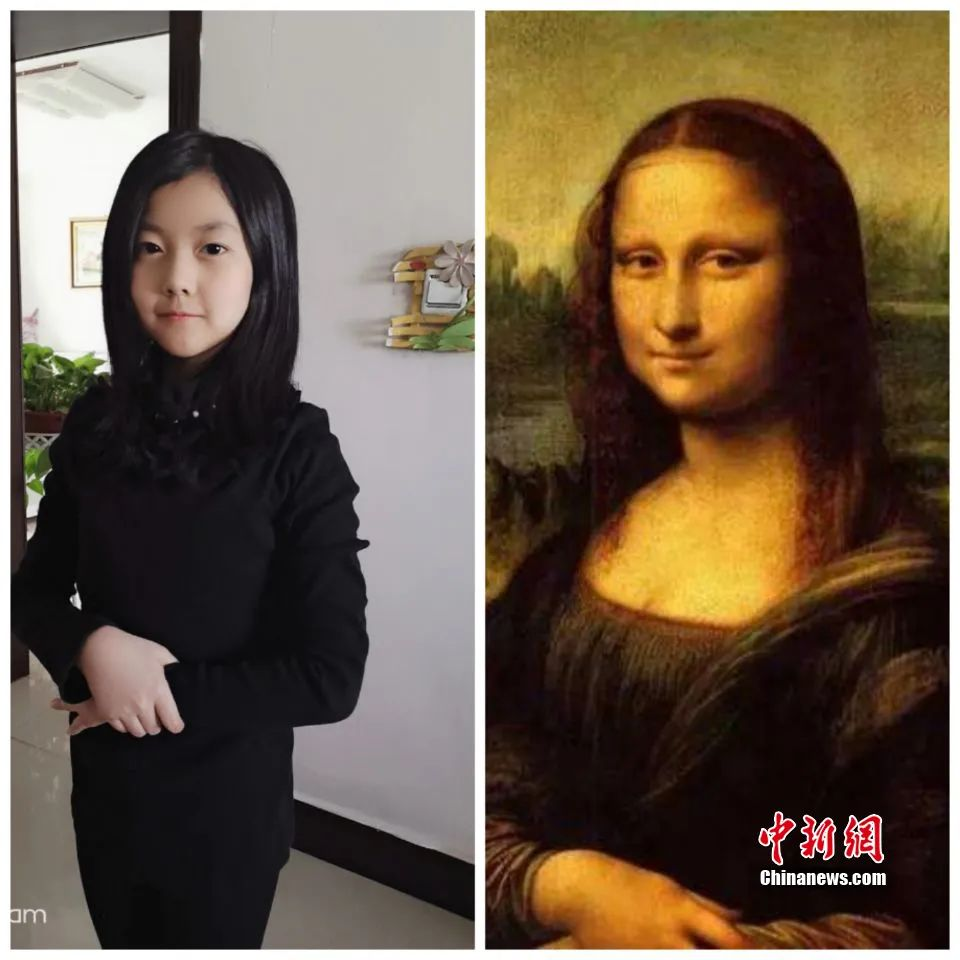 Famous Paintings Come Alive? Easy, Just Kids' Imitation!