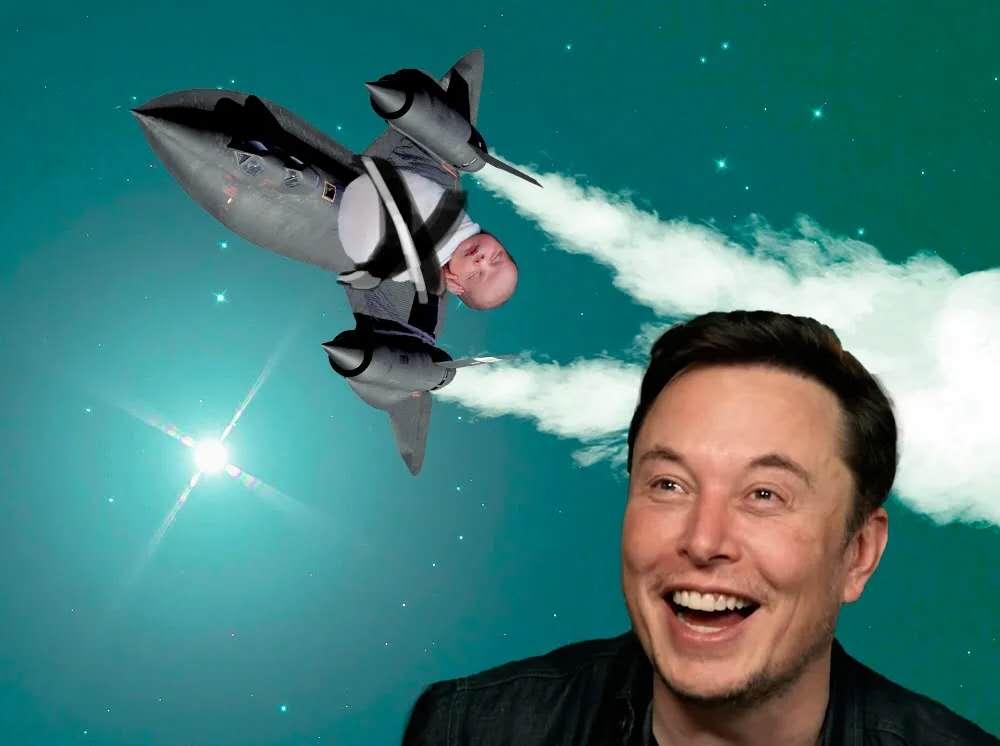 Seriously? Elon Musk Named His Newborn Baby X Æ A-12