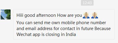 印度封杀59款手机APP!赶紧联系你的微信、TikTok、微博客户!